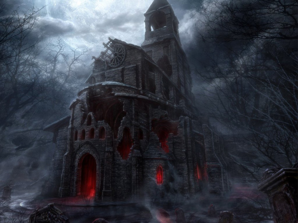 Scary Houses 1024x768