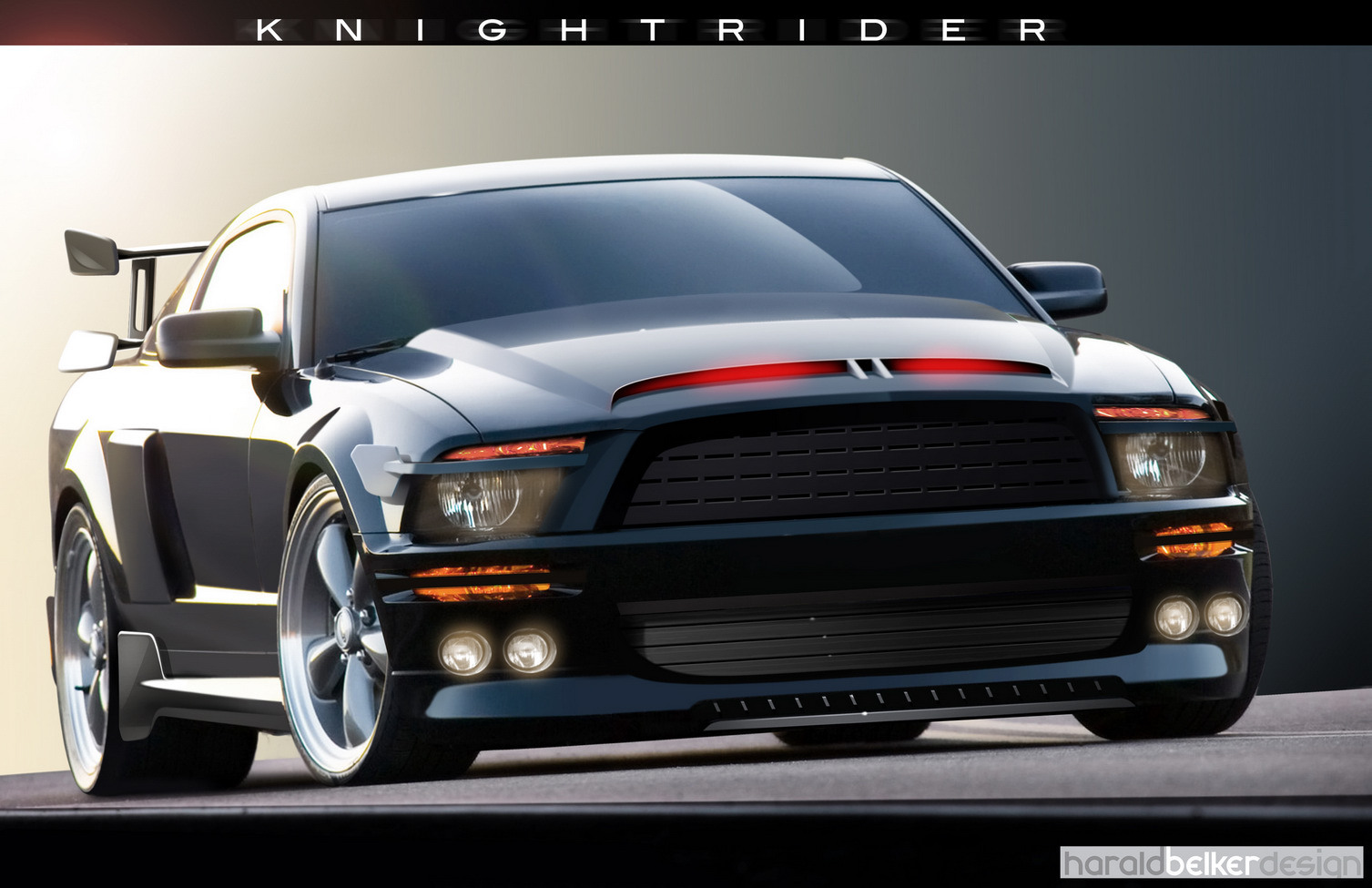 Knight Rider images KITT 3000 Wallpaper HD wallpaper 1507x975