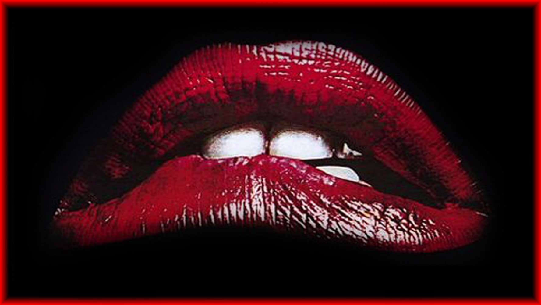 Free Download Rocky Horror Picture Show Lippen Wallpaper