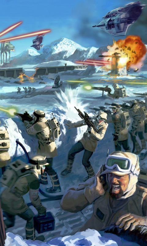 Star Wars   Battlefront II Mobile Wallpaper 10975 480x800