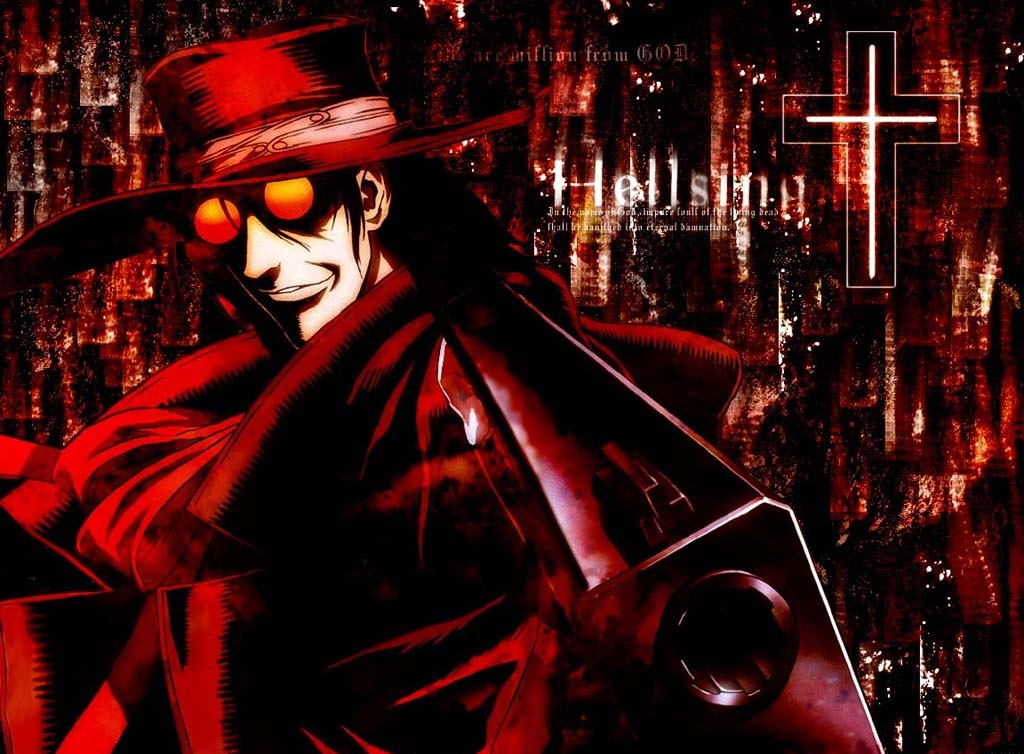 kdo is the main protagonist of the Hellsing anime and manga 1024x754