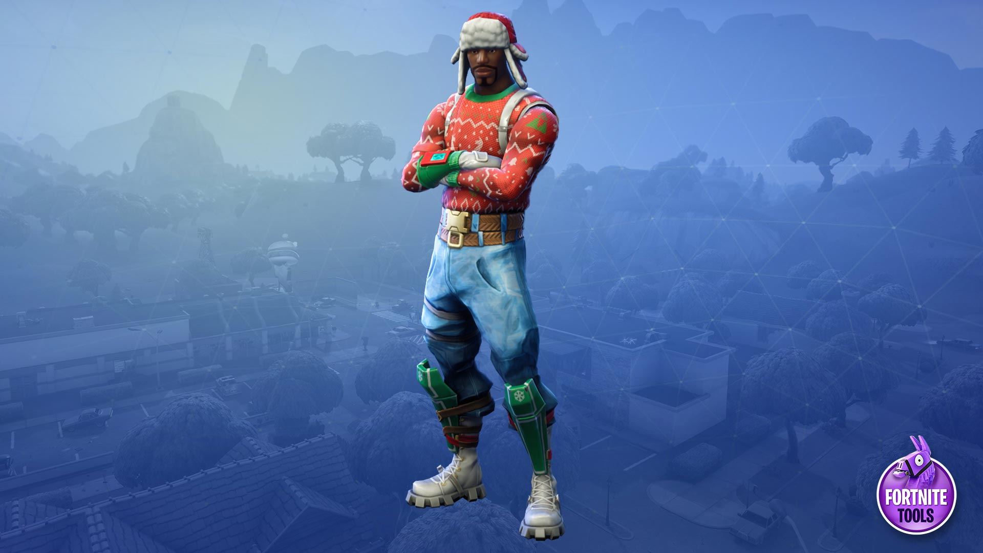 Fortnite Wallpaper Yuletide Ranger Latest HD Wallpaper 1920x1080