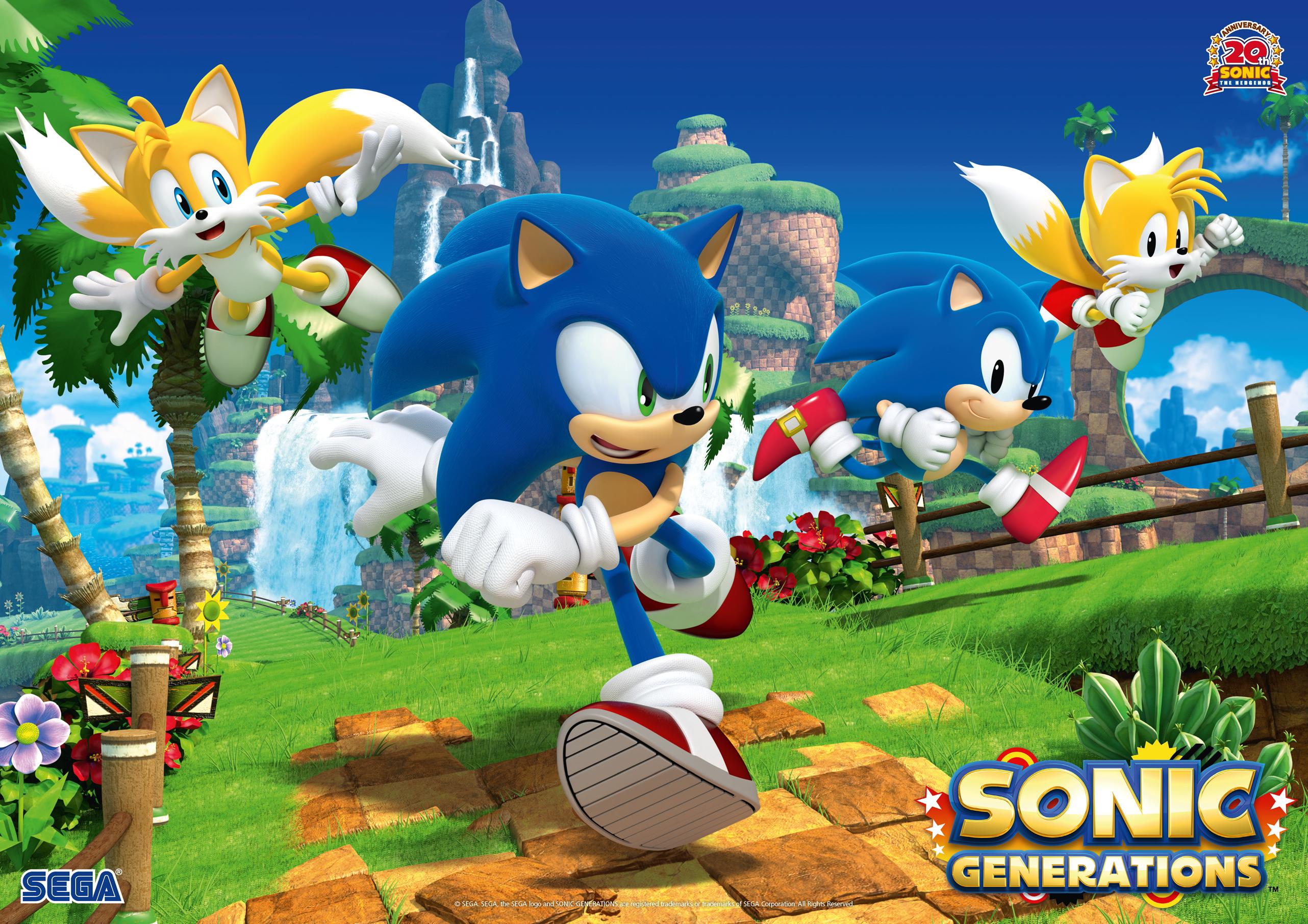 Sonic Generations Wallpaper HD - WallpaperSafari