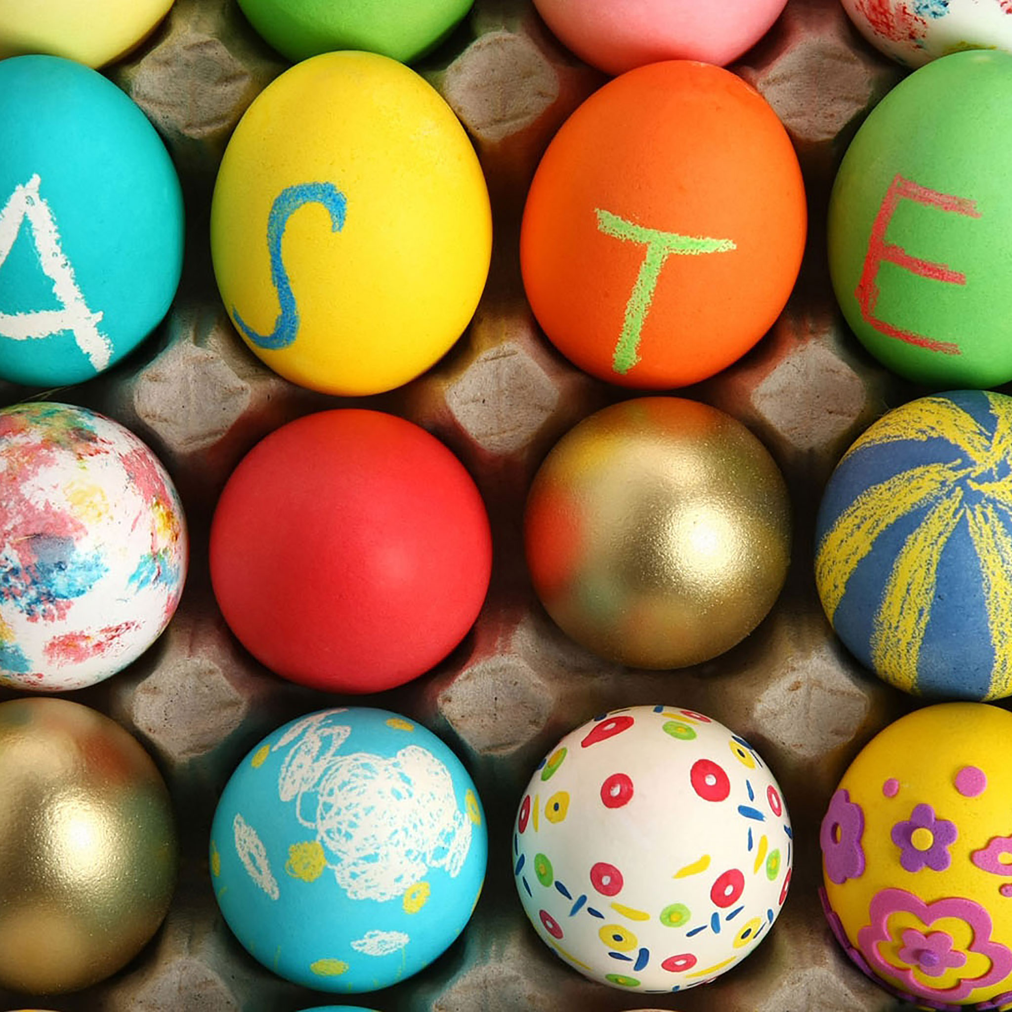 20 Easter iPad Wallpapers 2048x2048