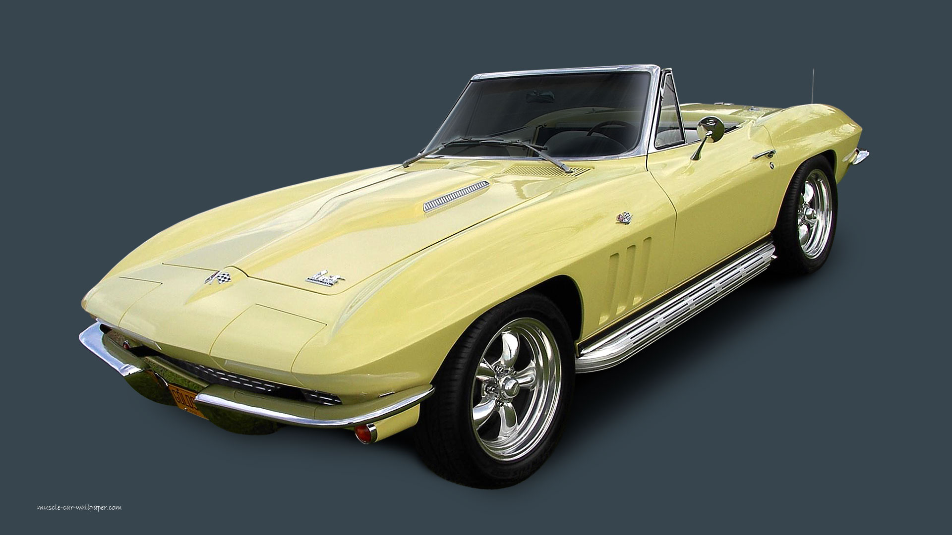 Corvette Wallpaper - 1966 - 1280x800_16