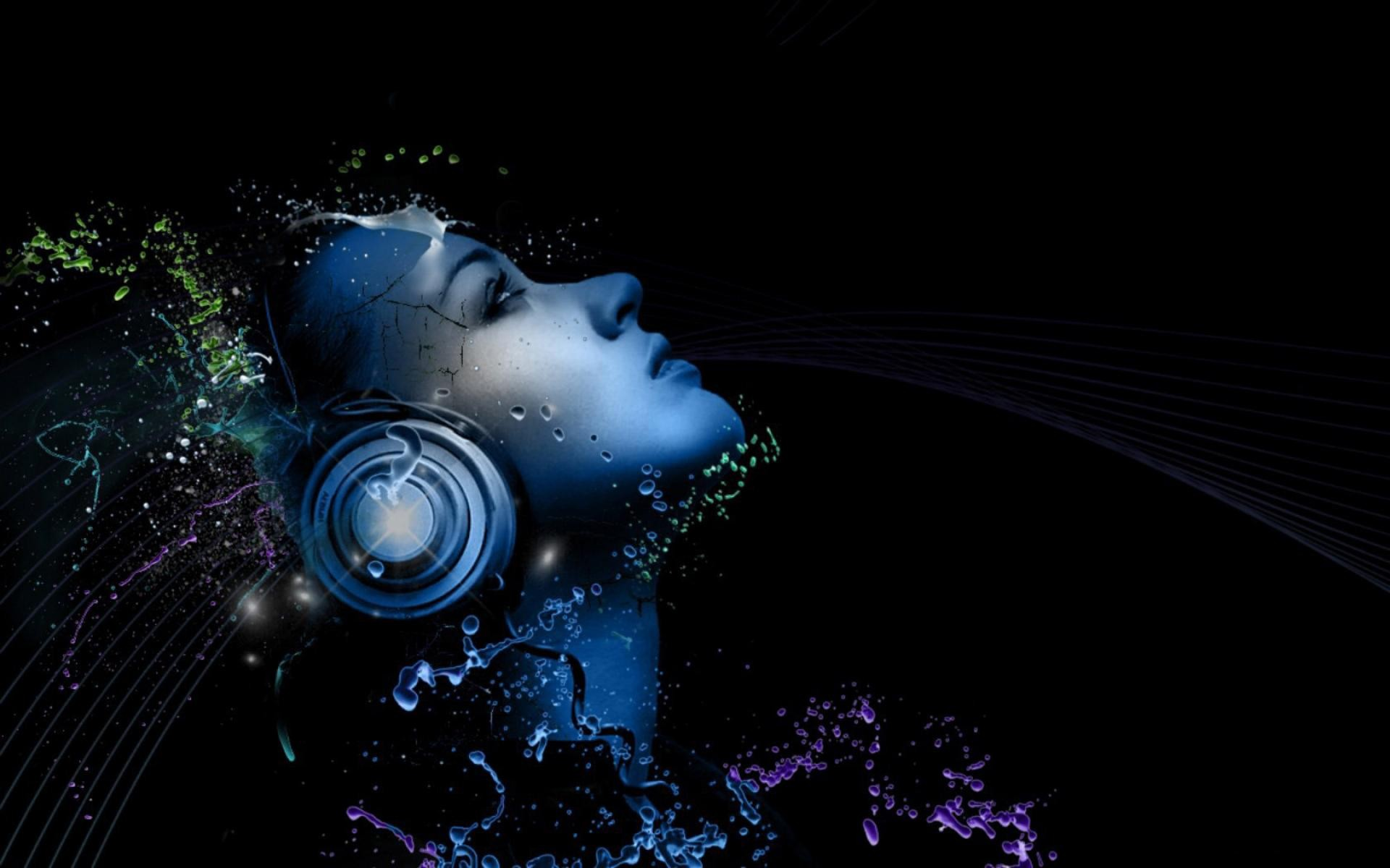 wallpaper headphones light music images 1920x1200 1920x1200
