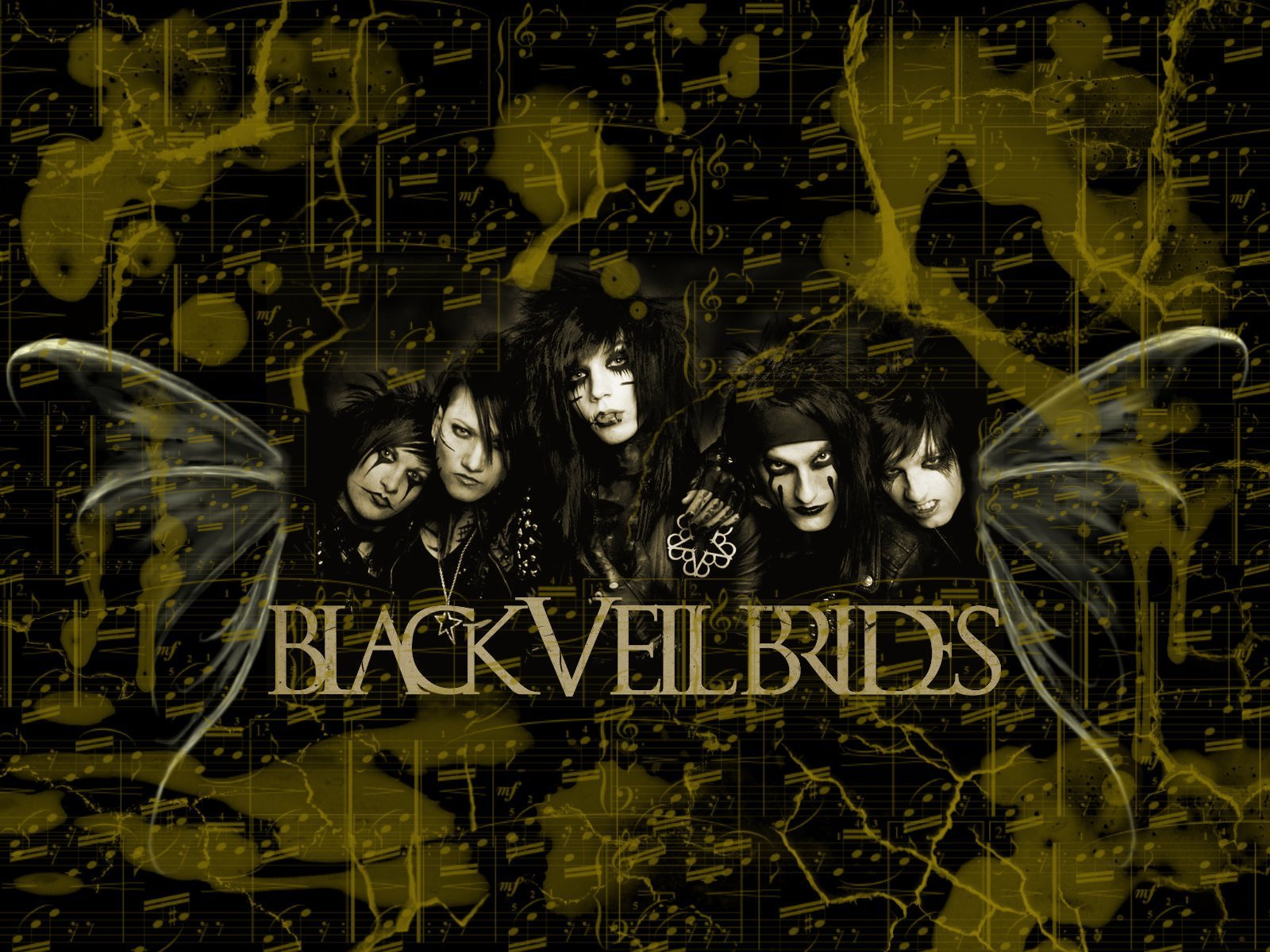 Pics Photos   Black Veil Brides Wallpaper 1600x1200