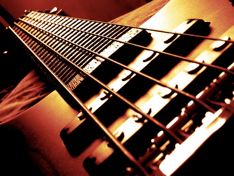 Wallpaper Gibson Electric Guitar Bass