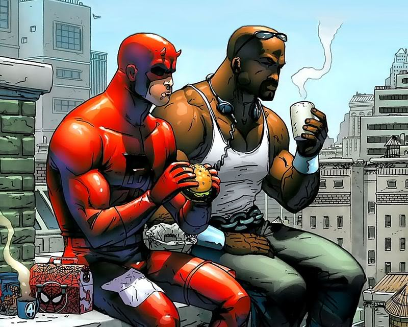 Daredevil Luke Cage Wallpaper Background 800x640