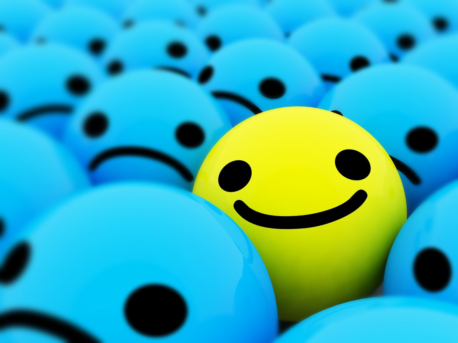 Emoticons   Smile desktop wallpaper 1600x1200