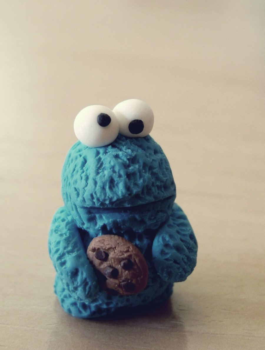 Cute cookie wallpapers wallpapersafari - Cookie monster wallpaper ...