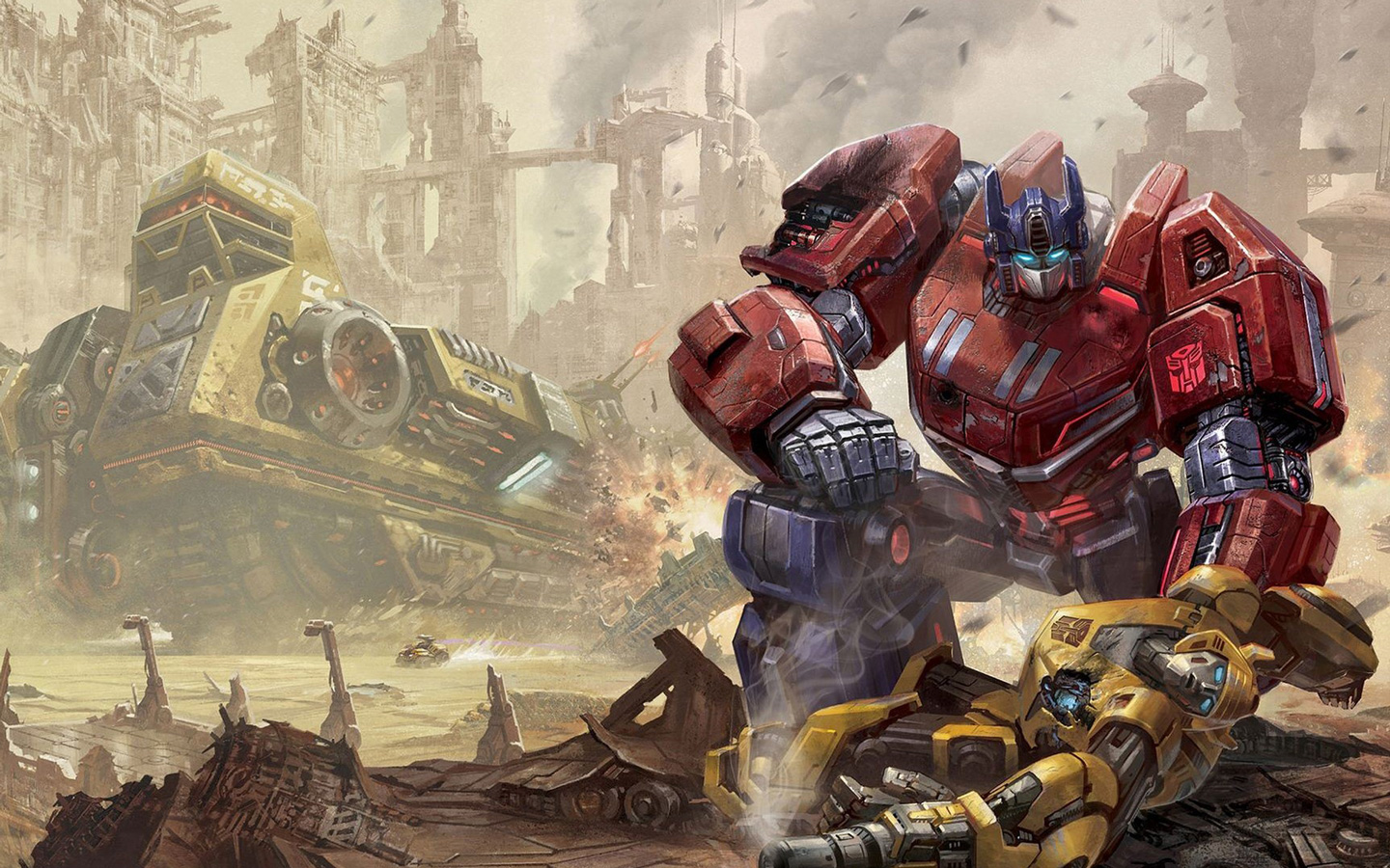 Transformers Fall of Cybertron Wallpaper in 1440x900 1440x900