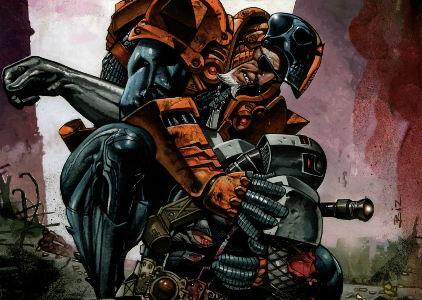 Deathstroke Ics Wallpaper 1440x1023