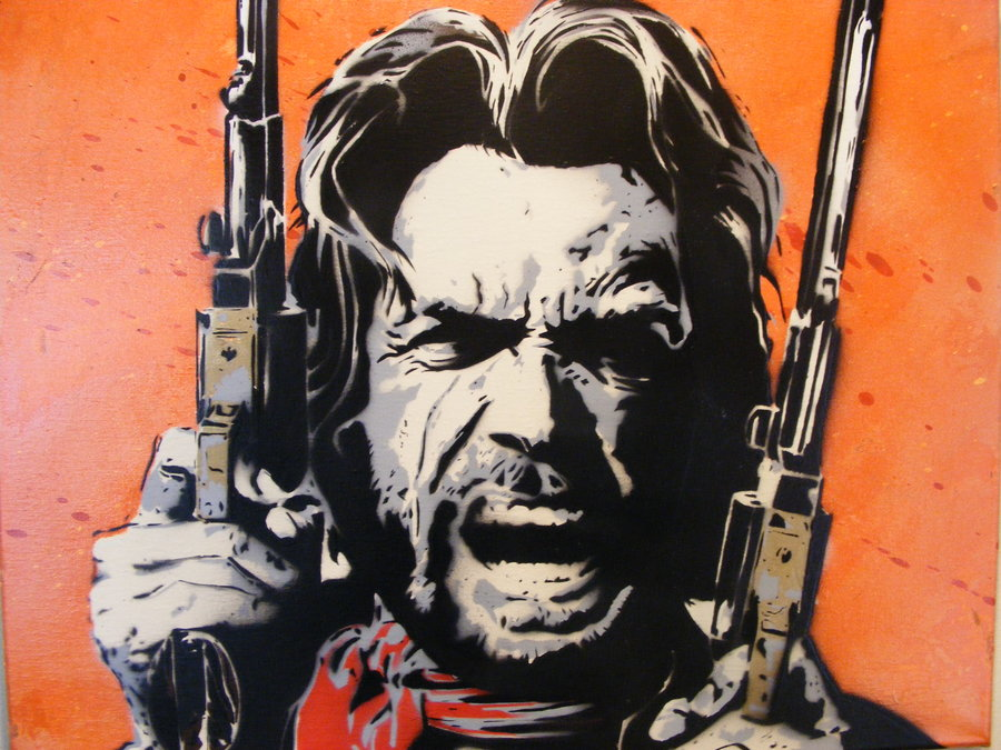 Clint Eastwood   Outlaw Josey Wales   Original Spr by TheStreetCanvas 900x675