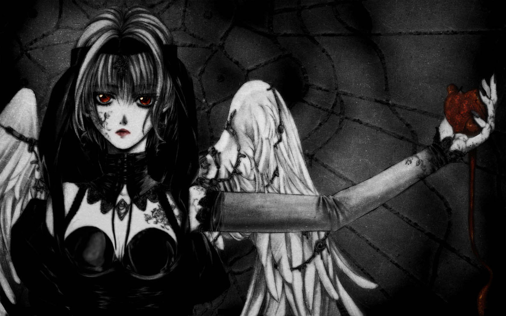 Black angel anime wallpaper wallpapersafari - Dark angel anime wallpaper ...