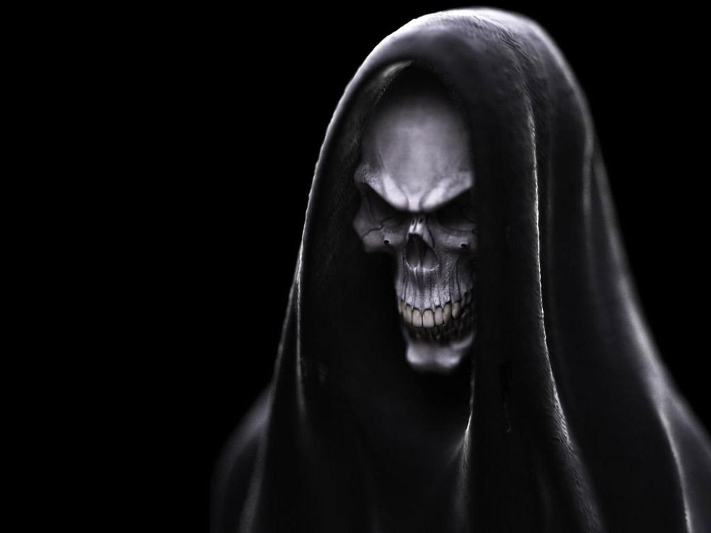 evil skull wallpapers 1024x768