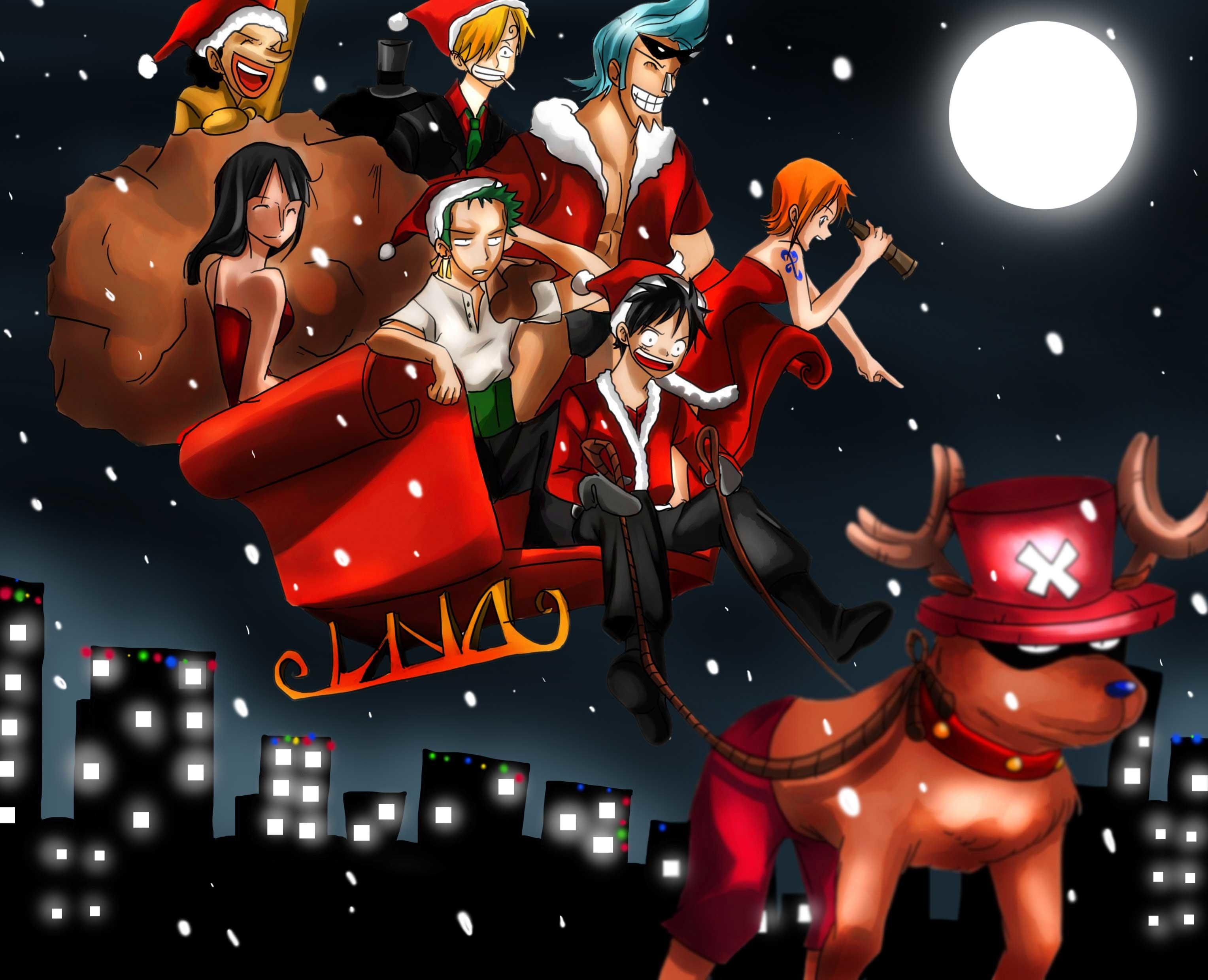 [44+] Anime Christmas Wallpaper HD on WallpaperSafari