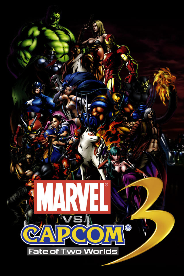 Marvel vs Capcom 3 iPhone wallpaper 640x960 640x960