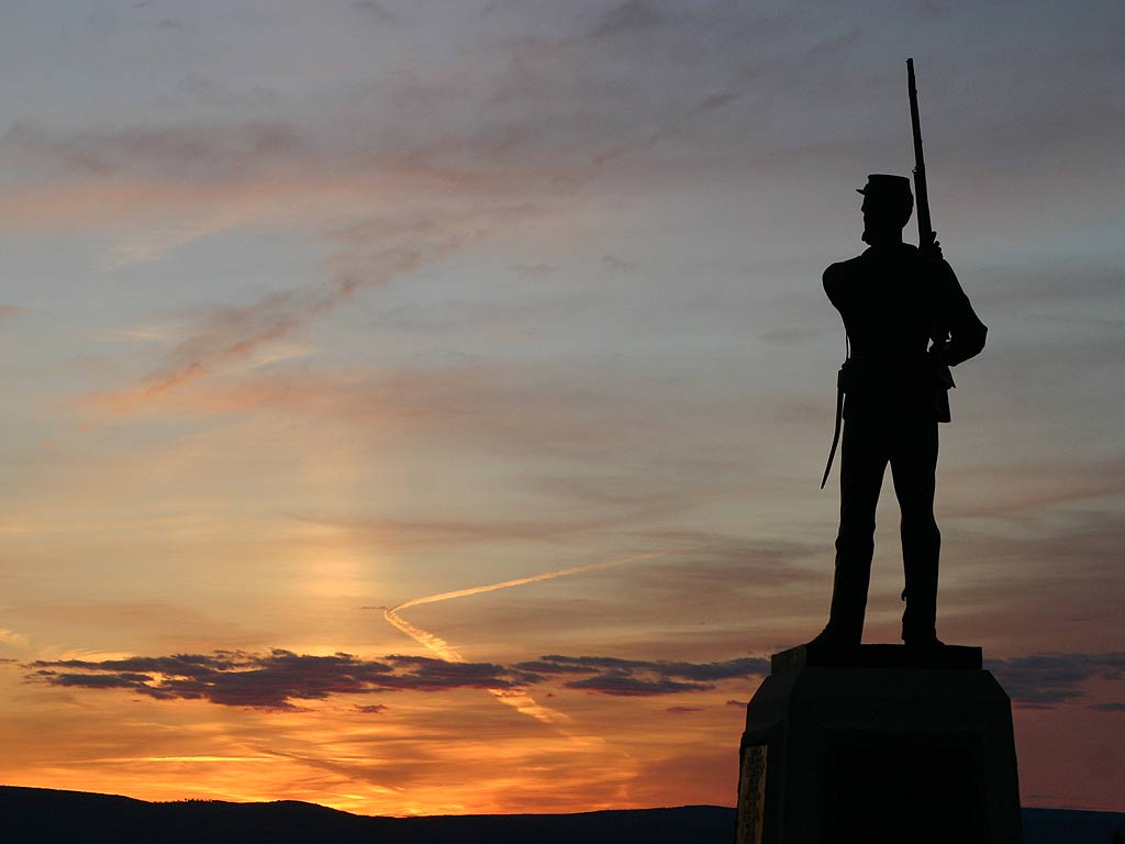 Gettysburg Civil War Pinterest 1024x768