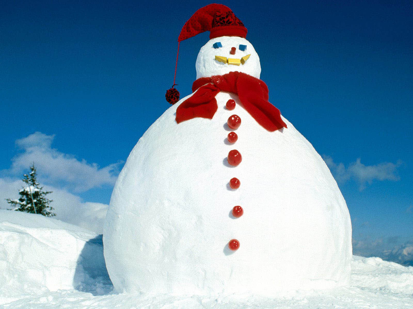 Download wallpapers Snowman Desktop Wallpapers and Backgrounds 1600x1200