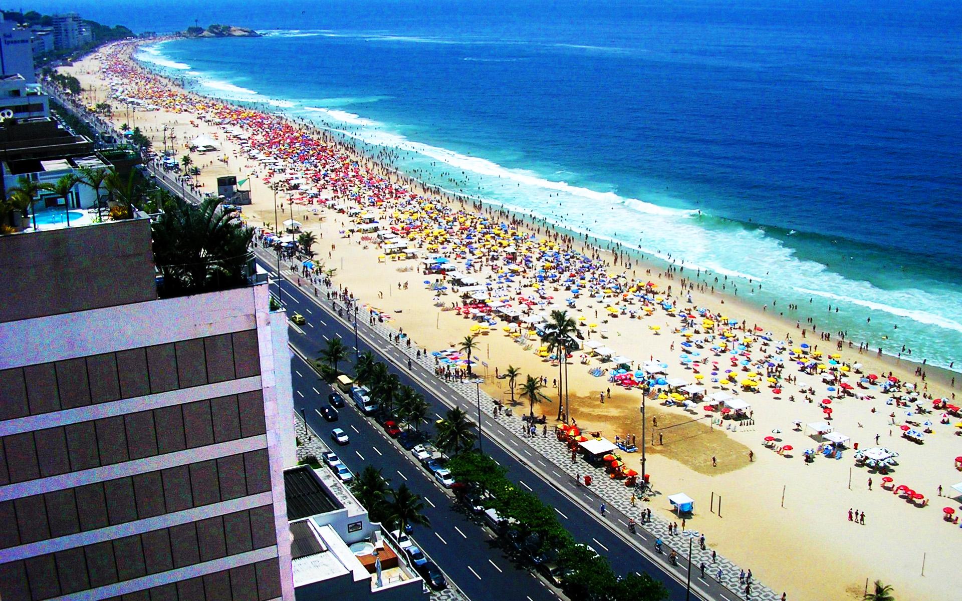 Rio De Janeiro Copacabana Wallpaper Wallpaper with 1920x1200 1920x1200