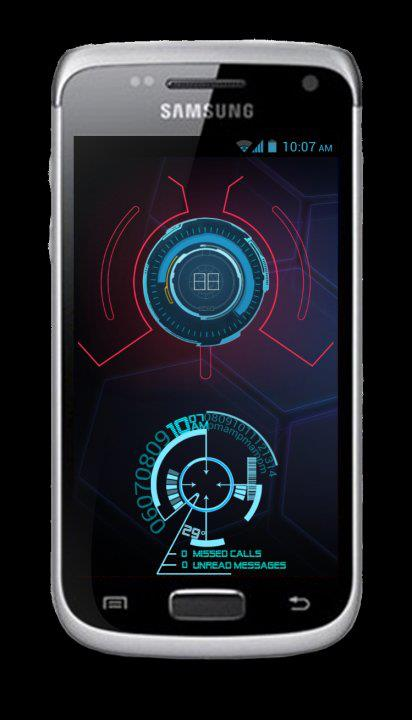 Iron Man Jarvis Live Wallpaper Jarvis android wallpaper j 412x720