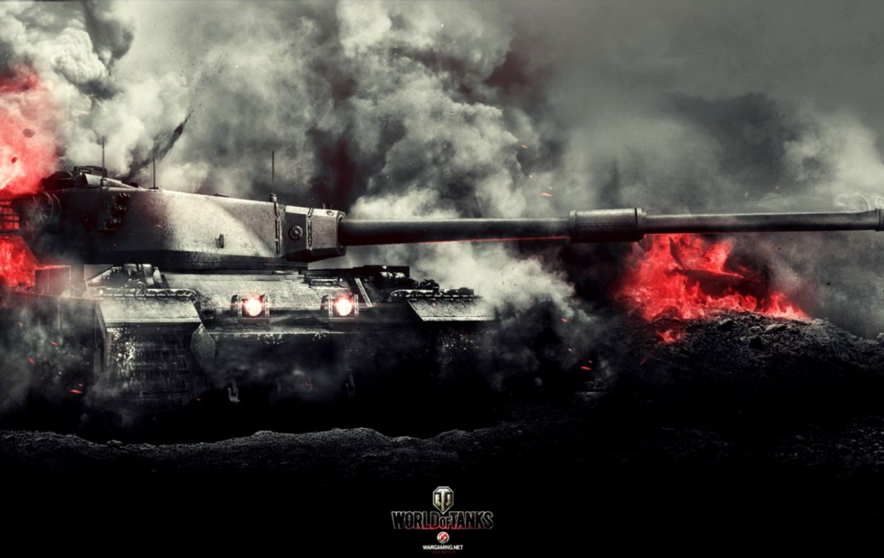 Conqueror World Of Tanks Game Wallpaper Hd Widescreen Wallpapers 1252x790