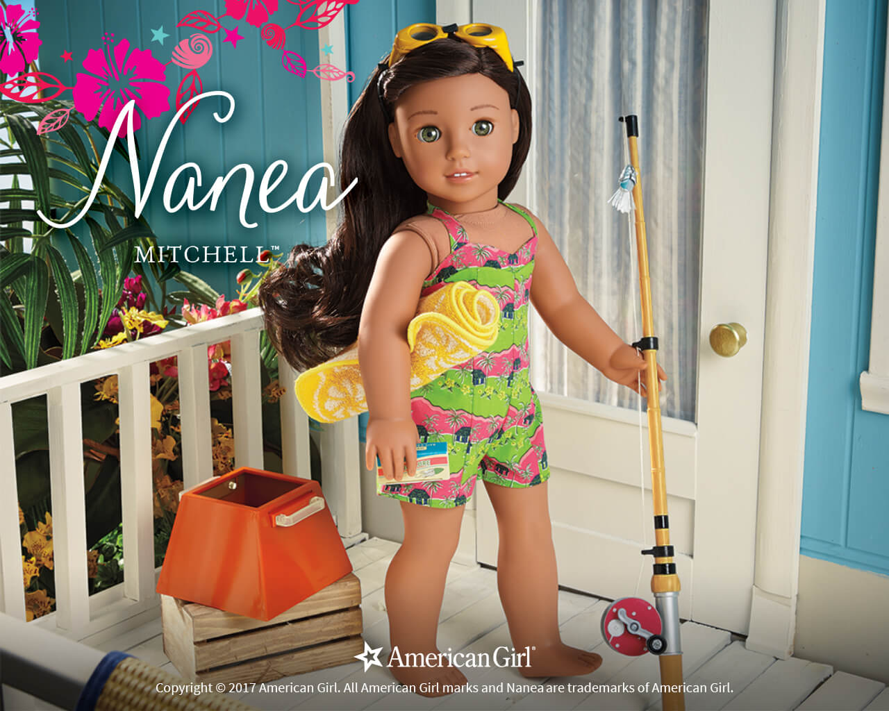 Nanea Mitchell 1941 BeForever Play at American Girl 1280x1024