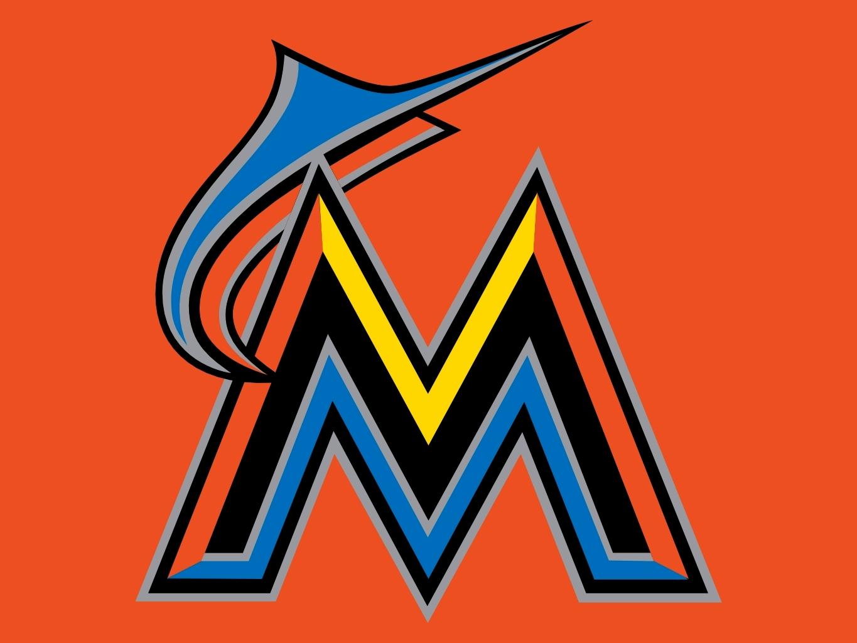 Miami Marlins Logo Vinyl Car Truck Decal Sticker MLB 77036z