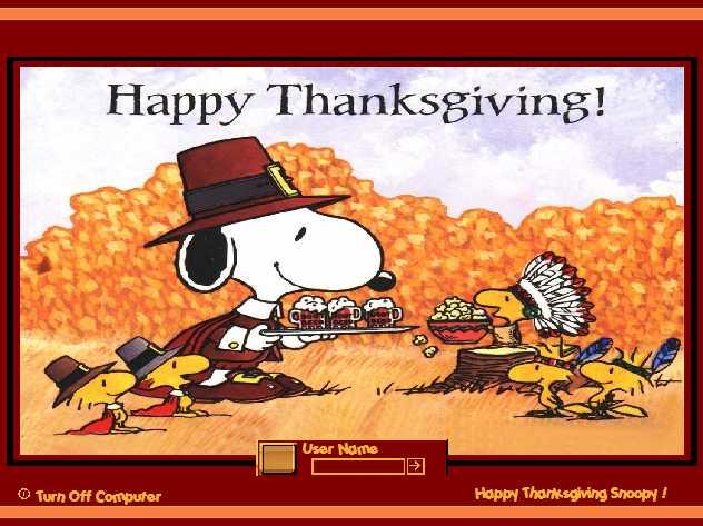 snoopy happy thanksgiving 4k - photo #7