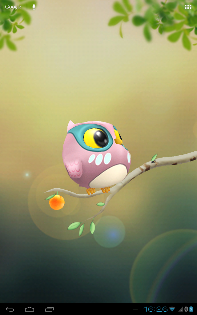 free owl screensavers wallpaper