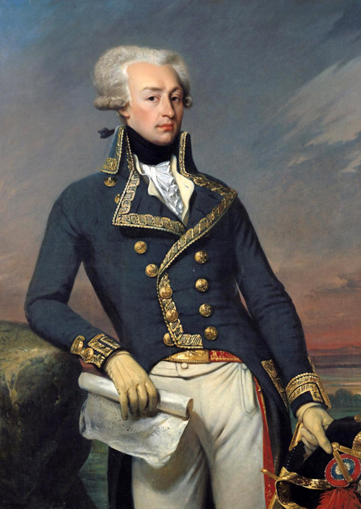 gilbert du motier marquis de lafayette portrait image   stock 1206x1700