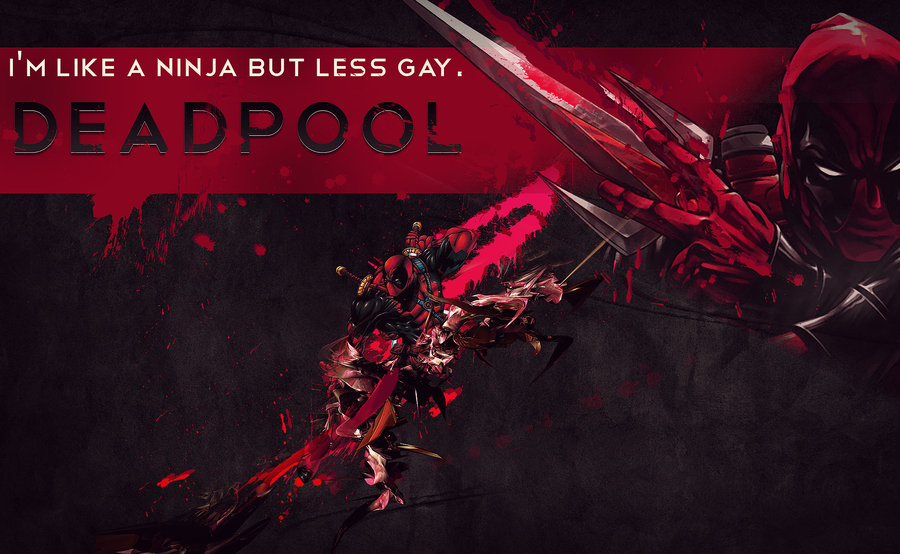 Deadpool Wallpaper by AmbroseFx 900x554