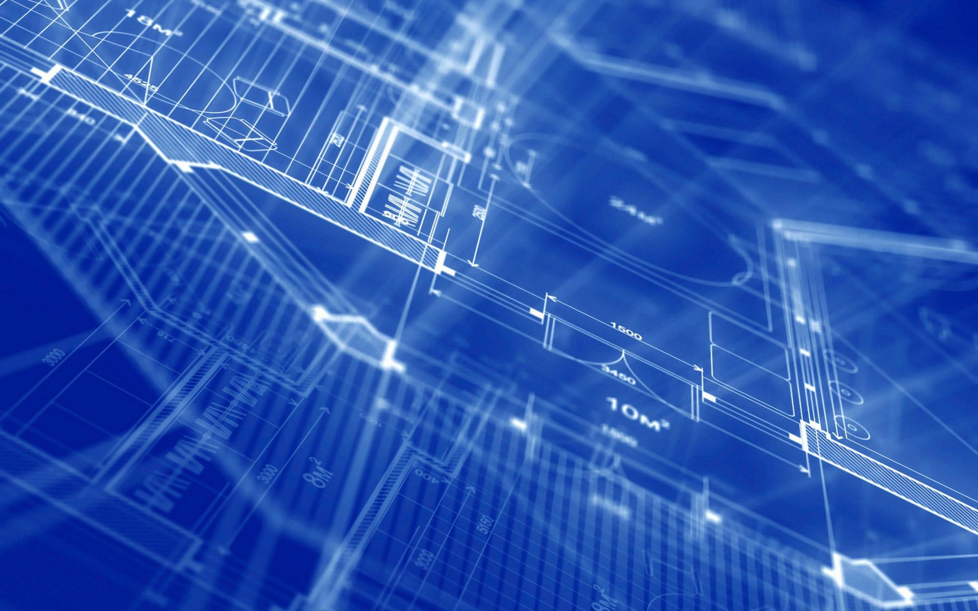Blueprint Wallpaper HD 1920x1200