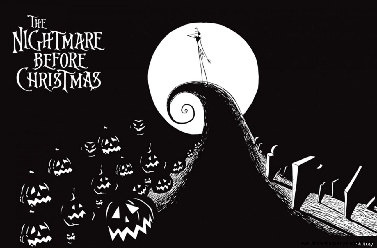 Free Download Nightmare Before Christmas Wallpaper Wallpapers Hd