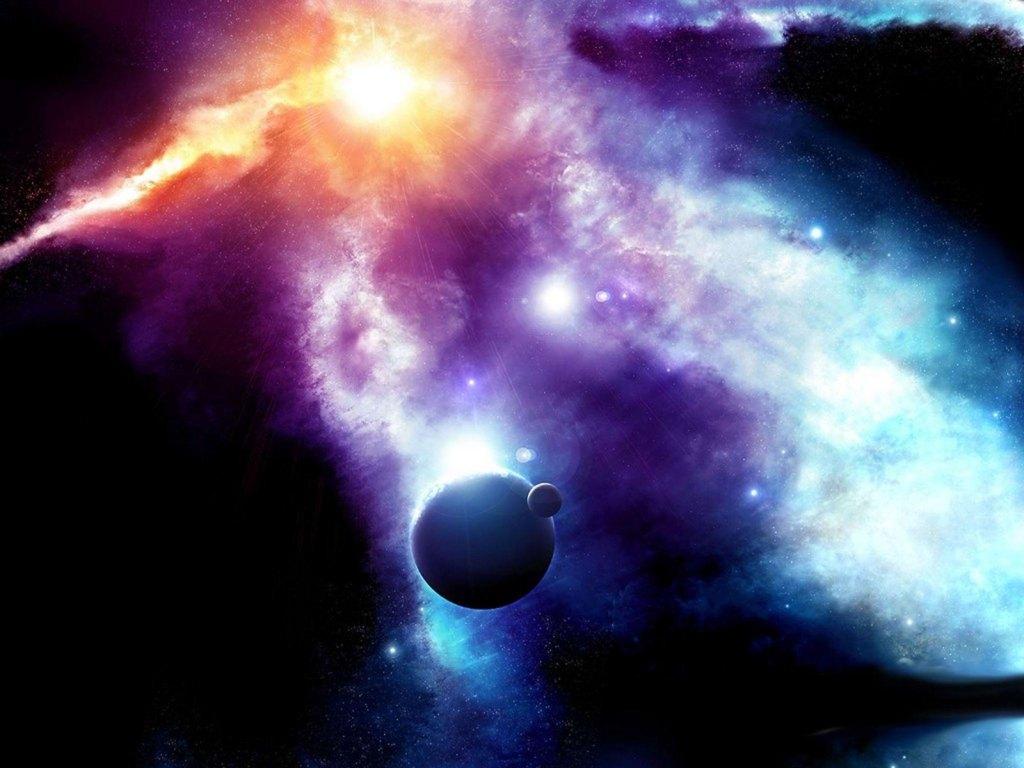 nebulae wallpaper 1024x768