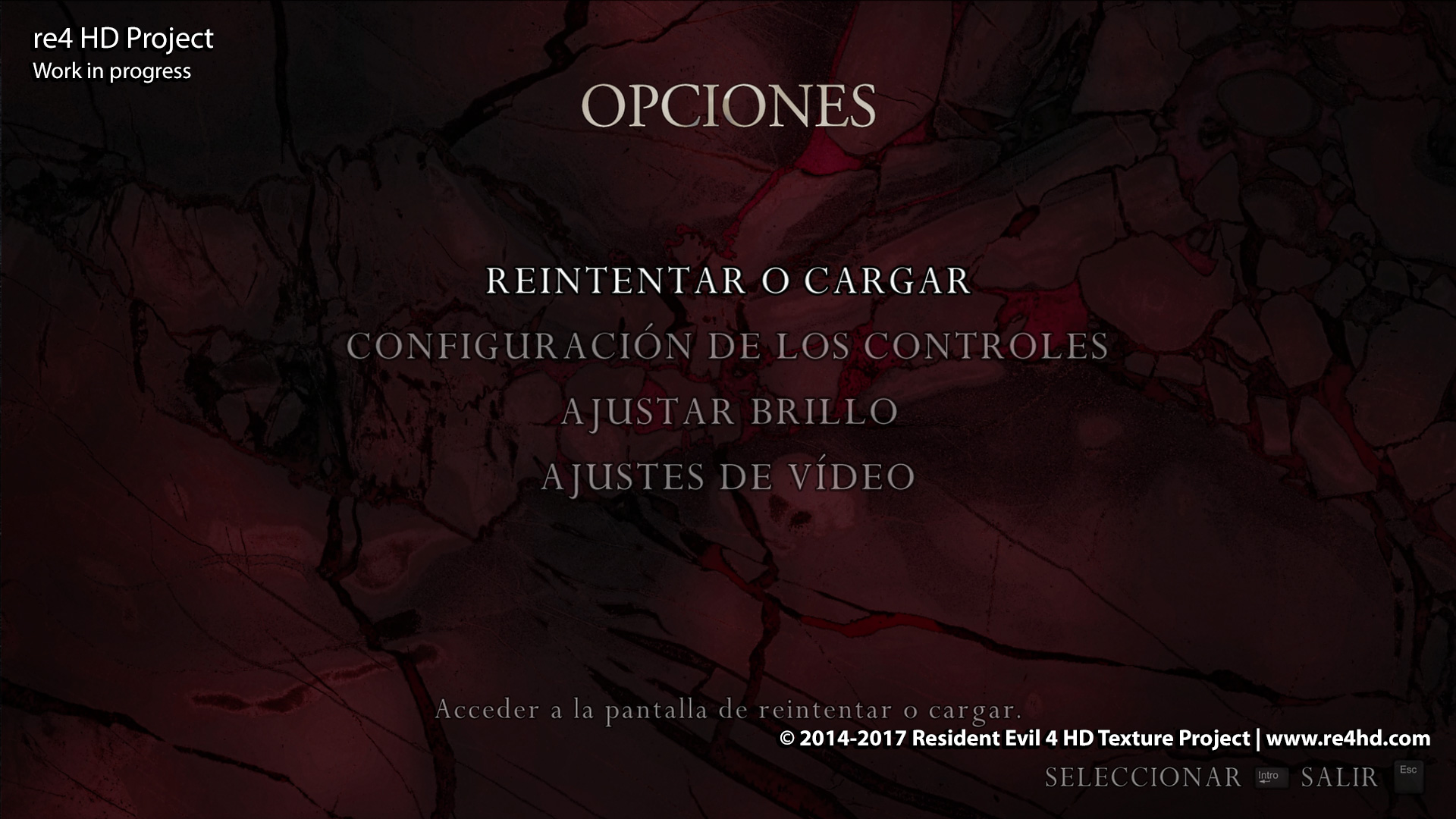 Sub Screens HD Remaster Resident Evil 4 HD Project 1920x1080