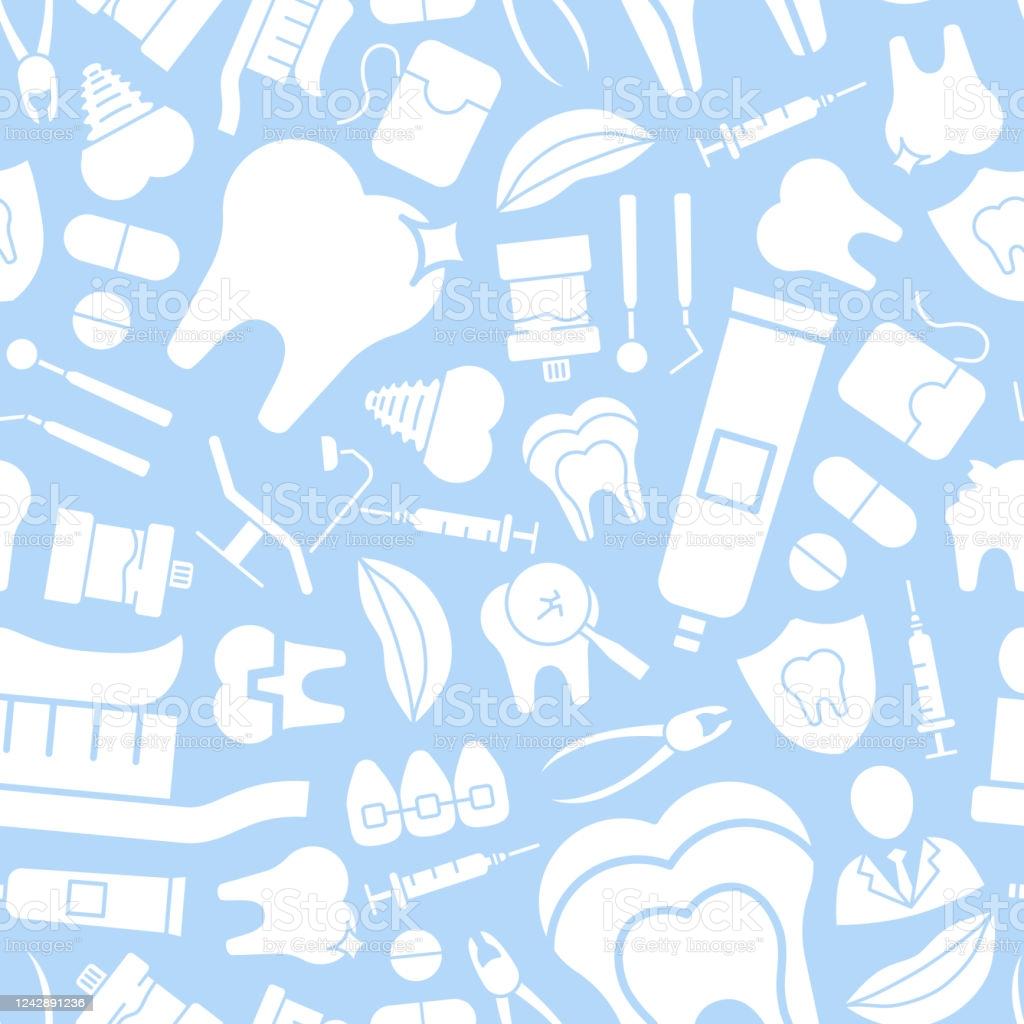 Dentist Background 0203 Stock Illustration   Download Image Now 1024x1024