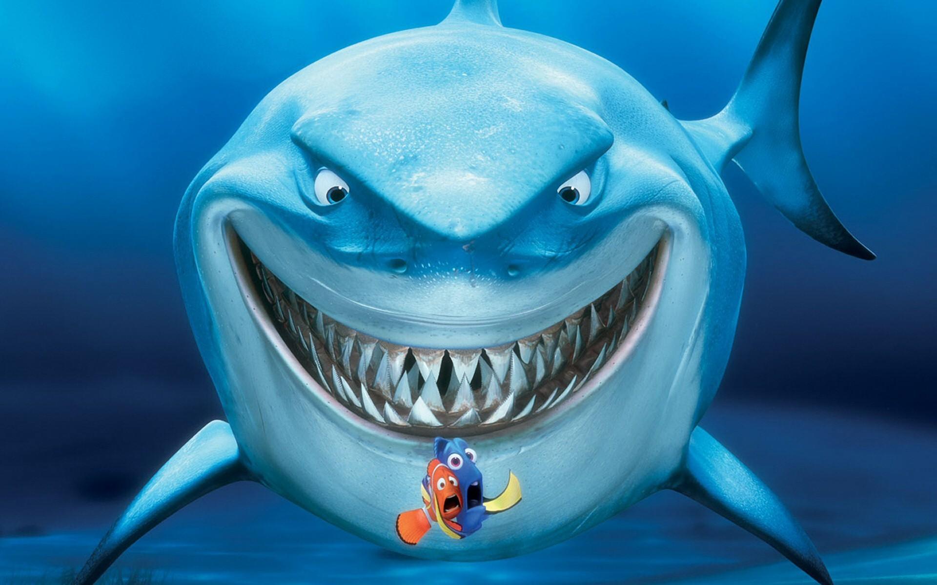 Finding Nemo Wallpaper finding nemo shark hd widescreen 1920x1200