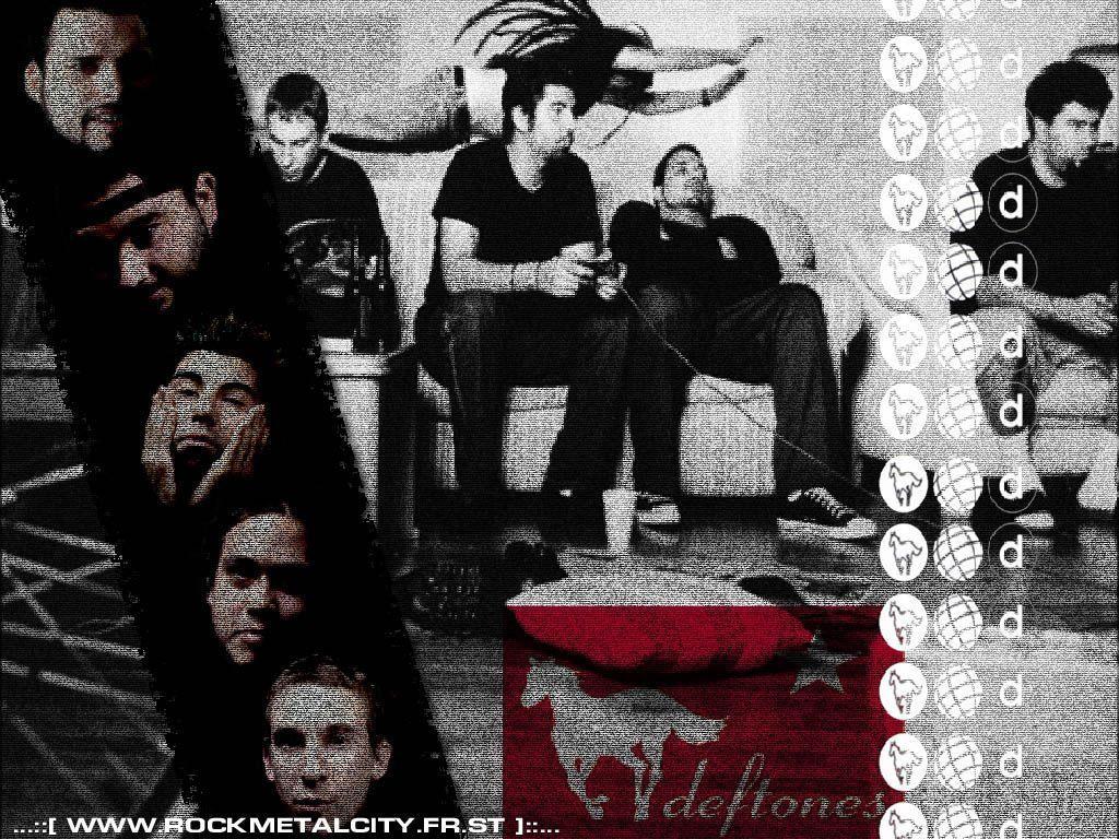 My Wallpapers   Music Wallpaper Deftones 1024x768