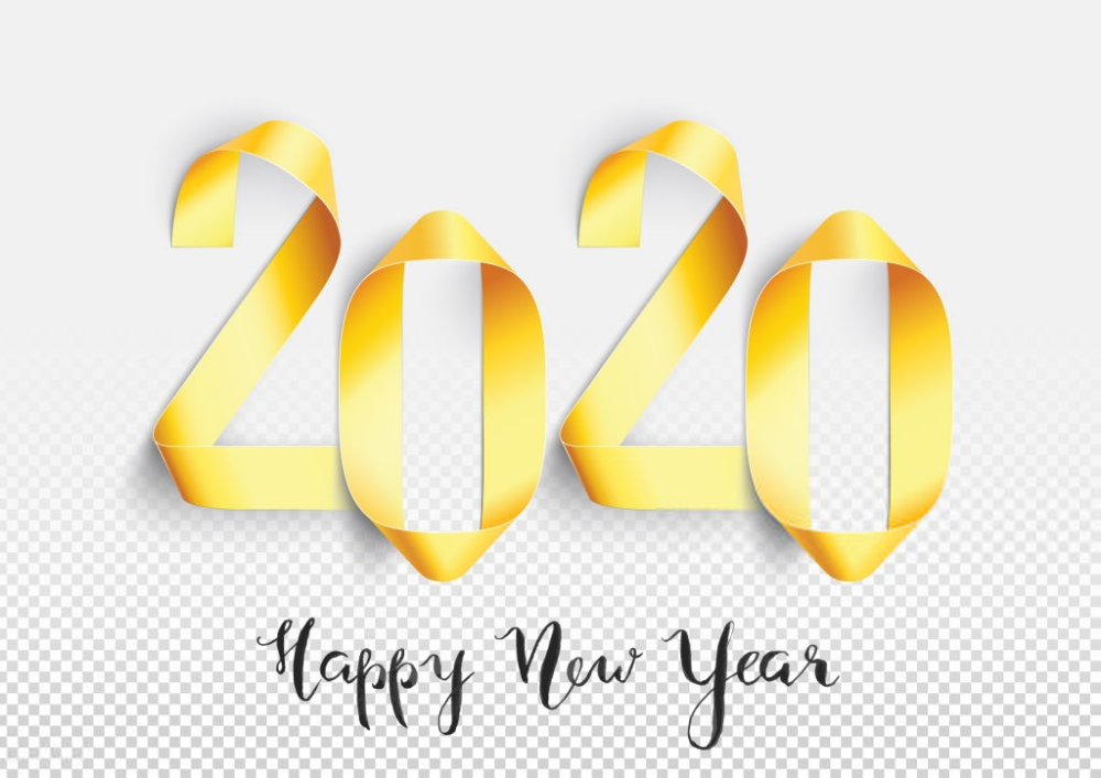 List of beautiful and stunning happy new year 2020 images 1000x707