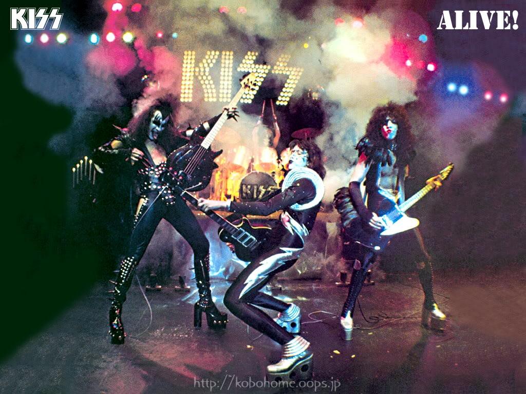 KISS Wallpaper Background Theme Desktop 1024x768