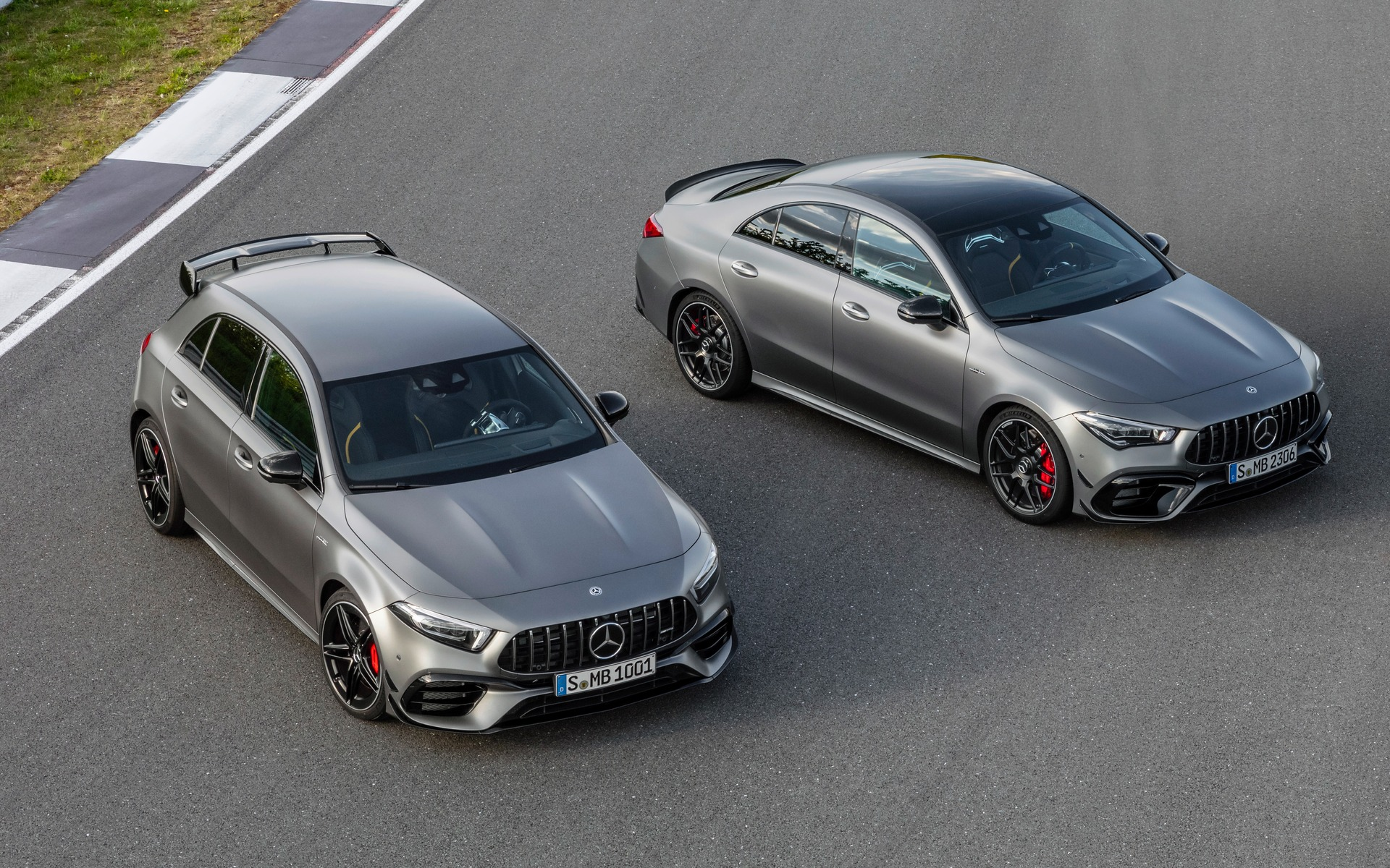 2020 Mercedes AMG A 45 and CLA 45 Unleashed With up to 421 Hp 1920x1200
