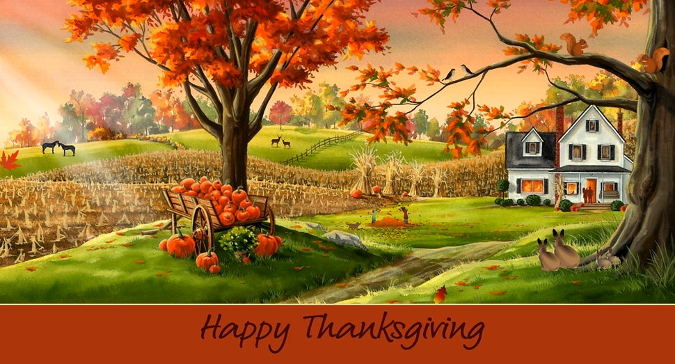 48] Animated Thanksgiving Desktop Wallpaper on WallpaperSafari 970x523