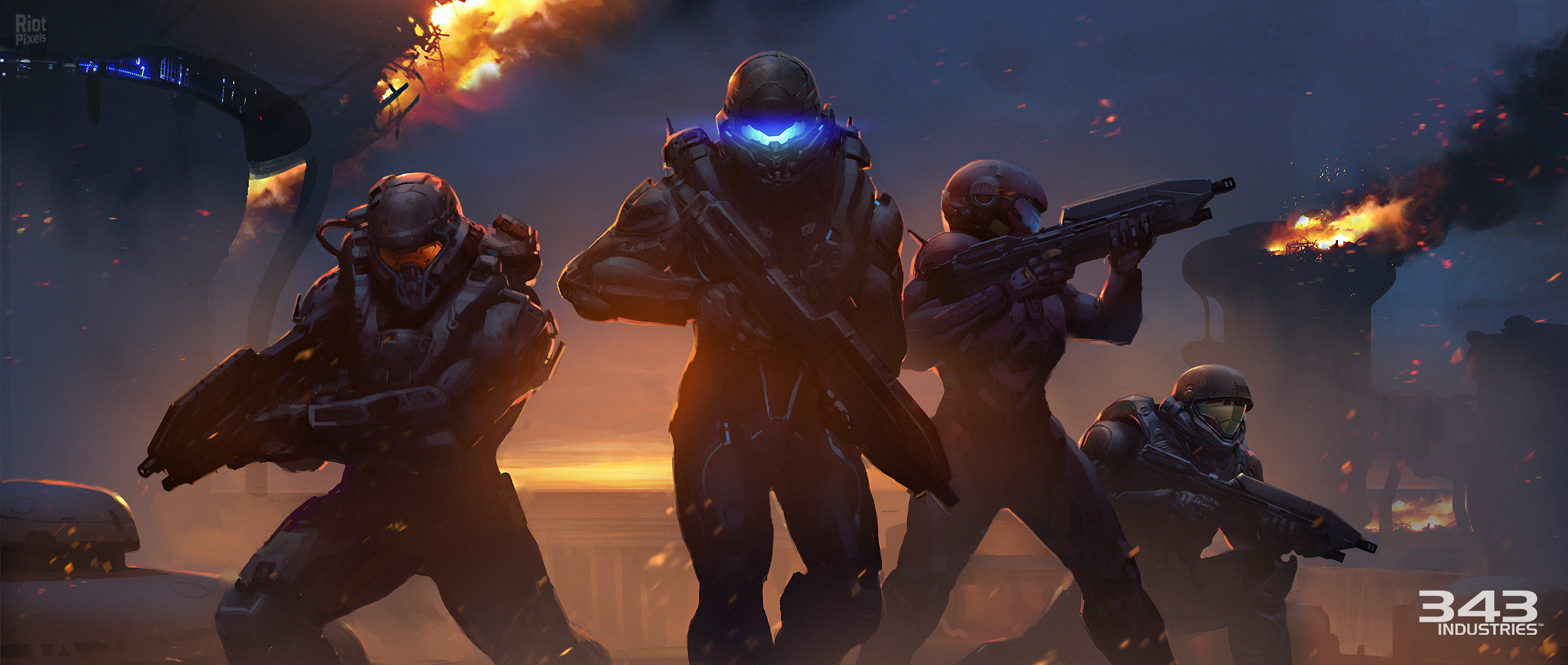 Halo 5 HD Wallpapers Download 2543x1080