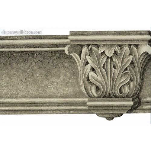 KITCHEN Architectural Molding Wallpaper Border 500x500
