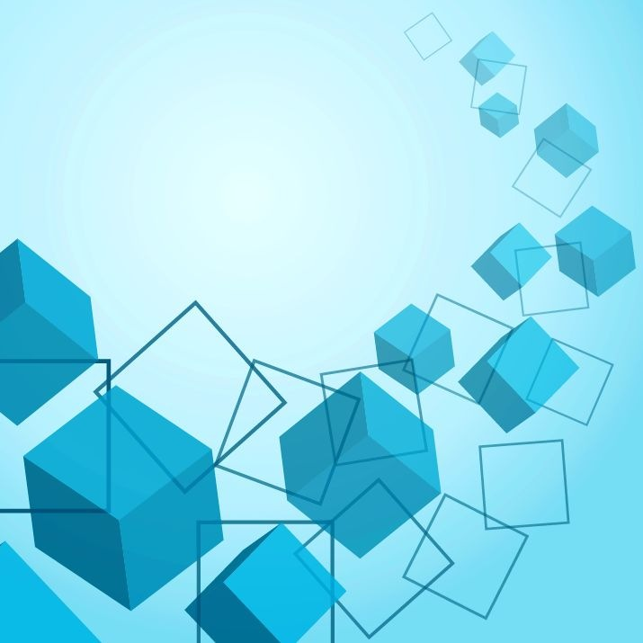 Cubes Background Vector Vector Graphics All Web 715x715
