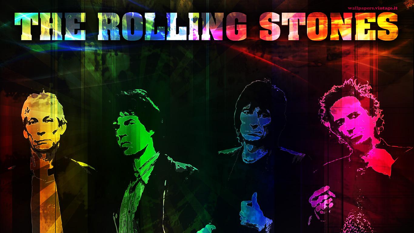 The Rolling Stones wallpaper   Desktop HD iPad iPhone wallpapers 1366x768