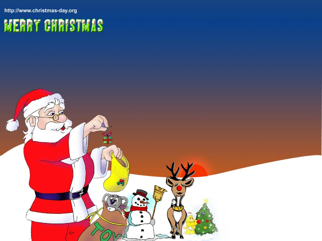 Christmas Wallpapers Christmas dayorg 1024x768