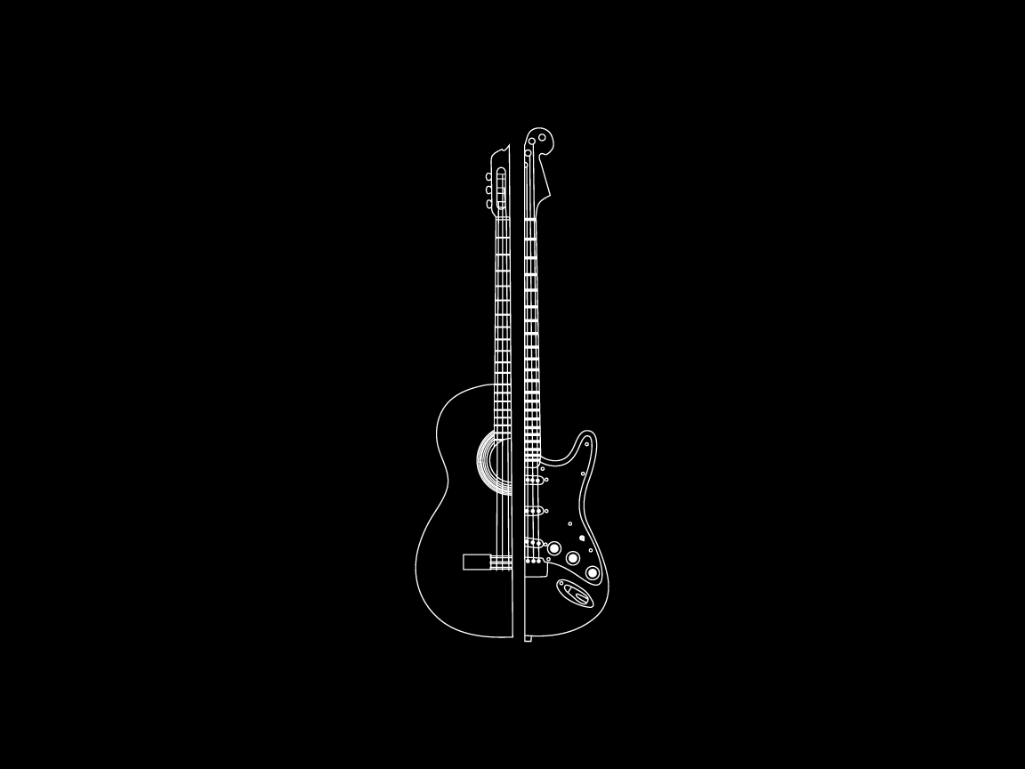 Electric Guitar Wallpaper HD